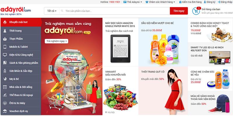 Web bán hàng online miễn phí uy tín