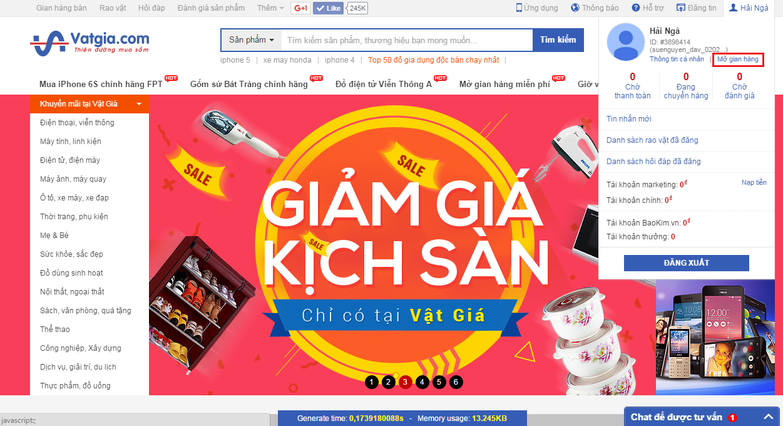 Các trang web bán hàng online nổi tiếng