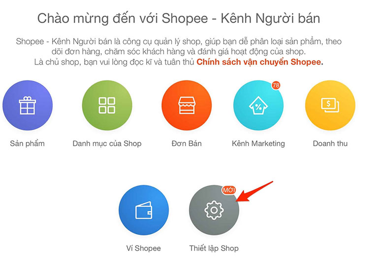 Hướng dẫn mọi người cách đăng ký bán hàng trên Shopee