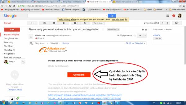 đăng ký bán hàng trên alibaba