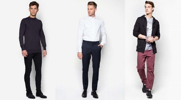 Phối trang phục họa tiết đơn giản basic