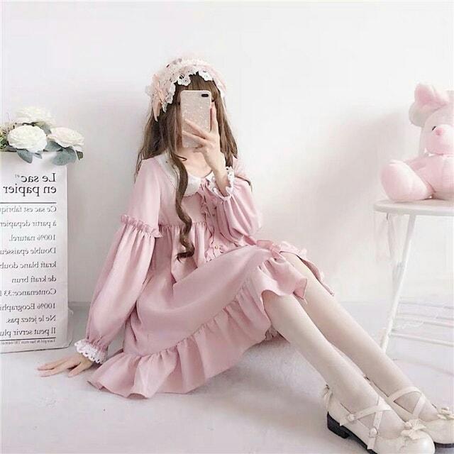 Váy babydoll nhẹ nhàng đáng yêu đang rất được ưa chuộng