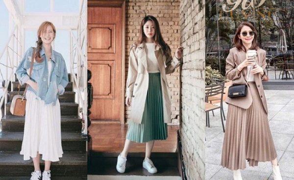 phong cách ăn mặc trẻ trung cho nữ