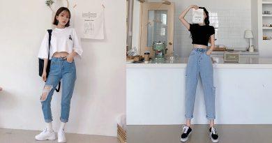 Mách bạn cách phối áo thun với quần jean siêu độc đáo cho mỗi ngày